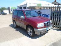 SUZUKI GRAND VITARA 1.6 GV1600 Sport Estate 3dr (red) 2002