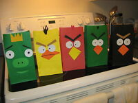 Angry Birds Party (Loot) Bags