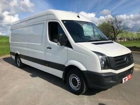 VOLKSWAGEN CRAFTER 2.0 CR35 TDI 1d 107 BHP ONE OWNER, EXCELLENT CONDITION (white) 2013