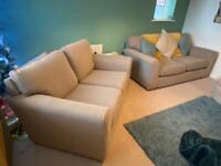 Next Michigan 3 & 2 seater sofas