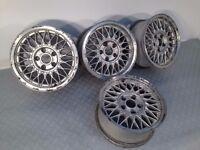 """BBS 15"""" 7J 5x120 Deep dish, original alloy wheels, Classic wheels, not ats, azev tm"""