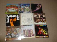 LP vinyl record collection heavy & classic rock