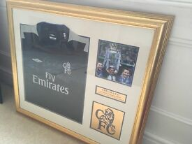 Chelsea FC Shirt signed by Jose Mourinho, Frank Lampard and John Terry