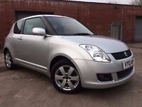 Suzuki Swift 1.3 SZ4 3dr FSH+LOW MILES+KEYLESS+ALLOYS RING NOW FOR MORE INFO 07735447270
