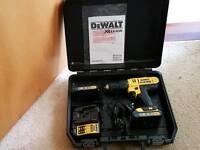 dewalt xrlion 18volt cordless drill dcd776c