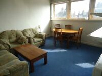 2nd floor 1 bedroomed flat in small apartment block with lift. Bright & spacious lounge, seperate fi