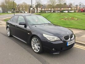"""06 PLATE 535D M SPORT AUTO REMAP VERY FAST SAT NAV 19"""" SPIDERS HEADS UP DISPLAY XENONS PUSH START"""