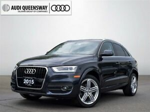 2015 Audi Q3 2.0T Progressiv, Clean Carproof