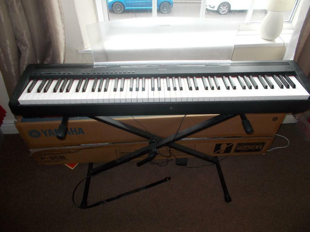 Yamaha Electric Piano  Weighted Keys