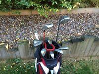 Golf Bag, Driver, 3 Wood & Ping G5 irons won TG's