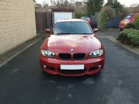 BMW 1 Series Coupe 120D M-Sport Auto Sat Nav Full BMW Service History / Warranty p/x welcome