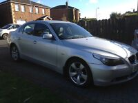 **PRICE REDUCED TO SELL** BMW 5 series MOT until Sept 17