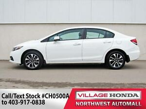 2015 Honda Civic EX | B/U Camera | Bluetooth | Sunroof |