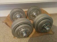 Weights 25 kg in total