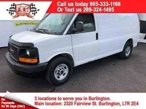 2013 GMC Savana Cargo Van, Cargo Divider, Back Up Sensor