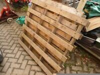 Free: Wooden pallets - 12 available