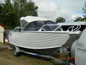 5.3m plate alloy boat Swap or trade Hobart CBD Hobart City Preview