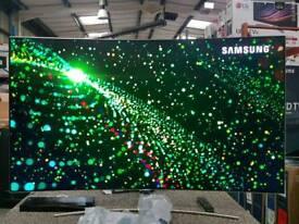 Boxed 65 inch samsung 4k smart tv hdr CURVED QLED TV