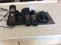 Siemens Gigaset telephone/answerphone trio