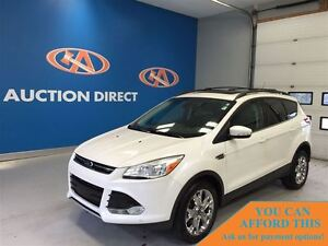 2013 Ford Escape SEL, AC, SUNROOF, FINANCE NOW!!