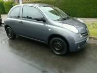2006 nissan micra 1.3 engine low mileage 60.000