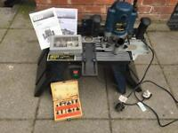 Craft router, table and bits