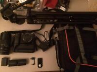 sony alpha a6000 16-50 kit 135mm canon