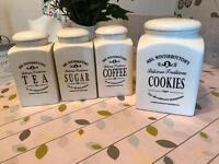 Biscuit tea coffee sugar