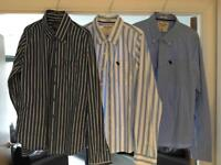 Three (3) Abercrombie and Fitch Shirts (Like New)