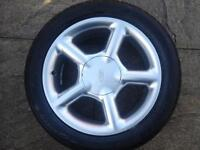 """FORD ESCORT ALLOYS COSWORTH STYLE 16"""" ORION SIERRA 205 TYRES"""