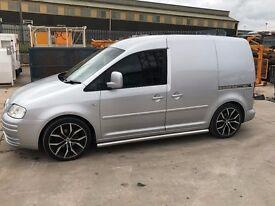 VW CADDY VAN - DSG BOX - PROJECT VAN