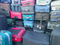 CHEAP USED UPRIGHT SUITCASE = £12 - FOR COLLECTION - RADLETT HERTFORDSHIRE