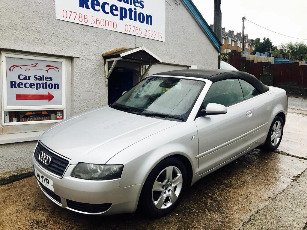 AUDI A4 1.8 TURBO CONVERTIBLE ONLY 65K MILES FSH £2895!!!