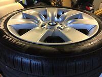 "BMW 19"" Winter Alloys 5GT or 7 Series Pirelli Sottozero Run Flats x4"