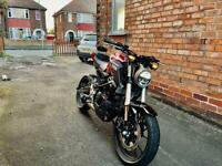 Honda cb125r (Available still due to time waster)