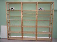 Ikea IVAR Shelves Unit / Bookcase / Bookshelves