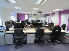 Cobham High St. Flexible accom. From a single desk to a separate office, meeting rooms. Phone/ WIFI