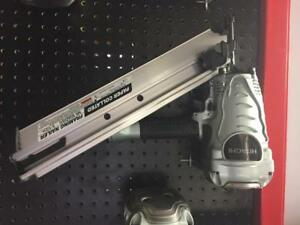 "Hitachi 3-1/2"" Paper Collated Strip Framing Nailer NR90AD (S1)"
