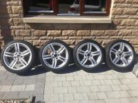 "BMW 5 series F10 19"" wheels"
