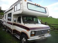 1990 RV FORD E350 DIESEL 7.2 AUTO 27 FOOT 6 BERTH MOTORHOME FOR SALE