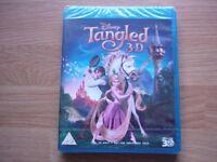 Disney Tangled 3D Blu Ray DVD