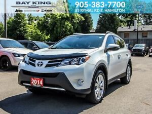 2014 Toyota RAV4 LIMITED, AWD, SUNROOF, BACKUP CAM, HTD SEATS