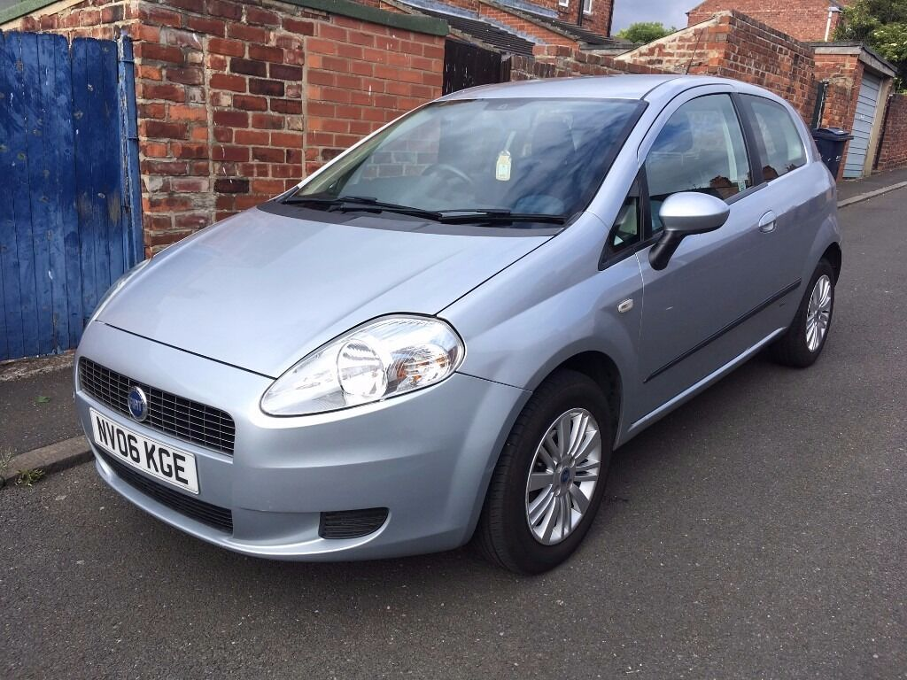 fiat punto grande dynamic 1 4 cc 06 plate 11 months mot. Black Bedroom Furniture Sets. Home Design Ideas