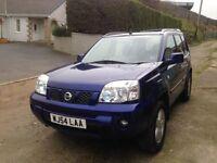 Nissan X-Trail 2.2 DCI Sport 2004 (54). New Turbo. Nokian WR D4 Tyres. Blue. Superb Car