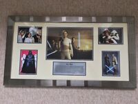 Star Wars - Beautifully Framed Movie Art - Picture / Photograph / Collection / Montage - As New