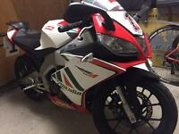 Aprilia RS4 125CC Learner Legal Max Biaggi Replica 2012