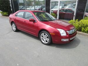 2007 Ford Fusion SEL WITH LEATHER & ALLOYS