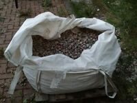 Scottish Pebbles 20 to 30mm Bag Size Bulk Bag - Half Qty Remaining