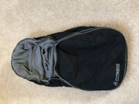 Maxi Cosi Footmuff - black - excellent condition - used for one season