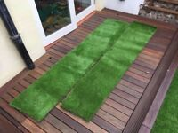 Fake grass - offcuts of artificial grass over 2metres in length